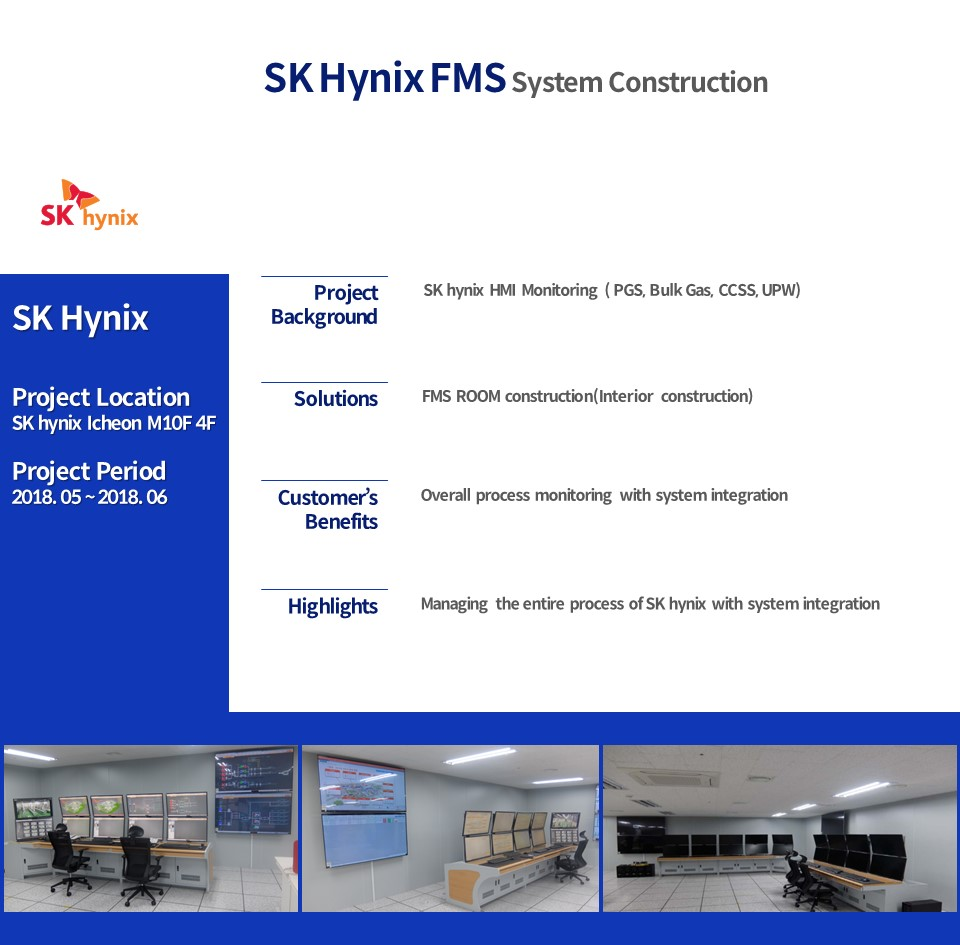 SK Hynix FMS System Construction