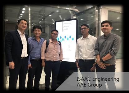 AAE Engineering visited ISAAC Engineering