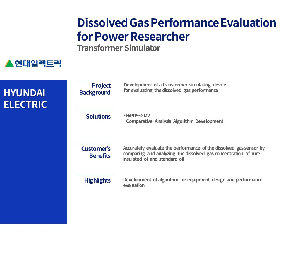 Dissolved Gas Performance Evaluation for Power Researcher
