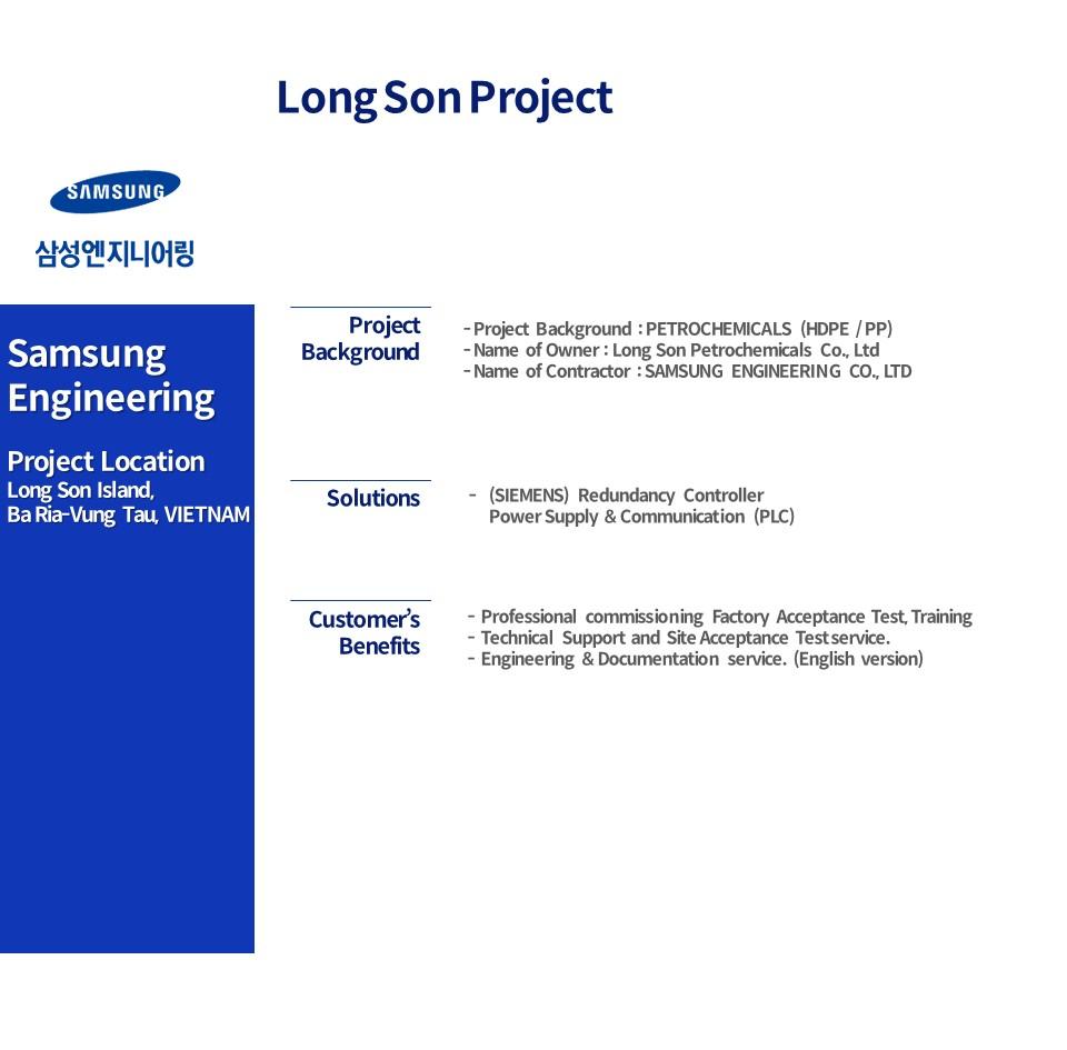 Long son Project in Vietnam